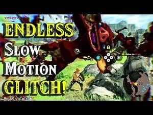 ENDLESS Slow Motion GLITCH found by Zelda in Hyrule Warriors Age of Calamity