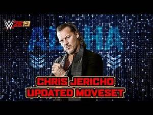 WWE 2K19 Chris Jericho Updated Moveset