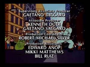 The Real Ghostbusters Credits (1987) *Best Quality