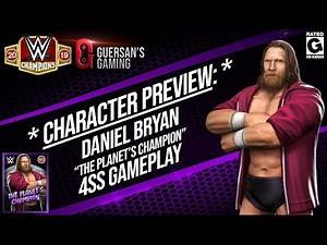 """Character Preview: Daniel Bryan """"The Planet's Champions"""" 4SS Gameplay / WWE Champions 😺"""