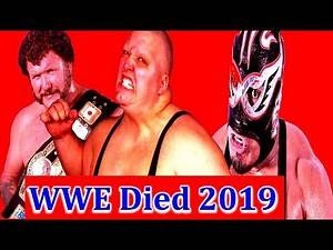 Wrestlers who died this year (2019) | Recent WWE Deaths 2019 List