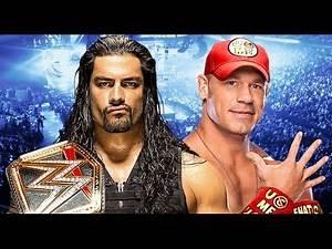 Roman Reigns vs John Cena Wrestlemania 32 Promo HD