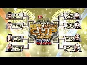 【オープニングVTR】 LEC Presents NEW JAPAN CUP 2020 in THE USA