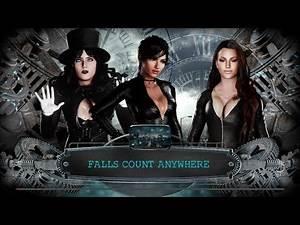 WWE 2K18 Catwoman vs. Talia Al Ghul vs. Zatanna: The Battle For Batman - Falls Count Anywhere