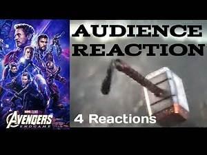 Avengers Endgame Captain America lifting Mjolnir Audience Reaction [4 Audience Reaction ]