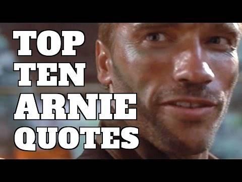 Top 10 Best Arnold Schwarzenegger Movie Quotes (Quickie)