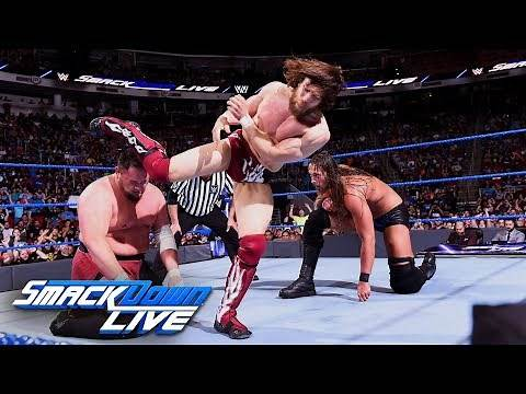 Daniel Bryan vs. Samoa Joe vs. Big Cass - Money in the Bank Qualifer: SmackDown LIVE, May 29, 2018