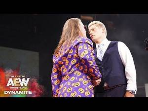 #AEW DYNAMITE EPISODE 5 HIGHLIGHTS: CODY - JERICHO CONTRACT SIGNING