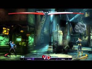 Xanadu FGC Monthly LuzLu (Nightwing) Vs. PTH Astro (Black Adam) Injustice Losers Finals