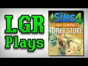LGR Plays - The Sims 4 [Toilet Store]