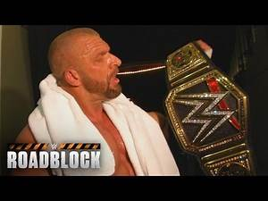 Was Triple H worried about losing his WWE World Heavyweight Title?: March 12, 2016