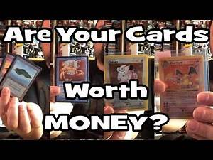Are your old Trading Card Game Cards Worth Money?
