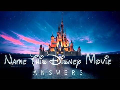 'Name This Disney Movie' Quiz Answers | How Many Disney Movies Can You Name? | Quiz Diva | QuizDiva