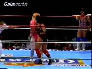 Mexican 6 woman tag from the early 90s: Part 1 of 3