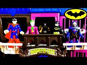 IMAGINEXT BATMAN Gotham City Jail Bane JOKER Darkside SUPERMAN