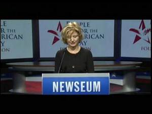 15. Beth Broderick in 2009 Inaugural Reading of the Constitution -- Article VII, Section A