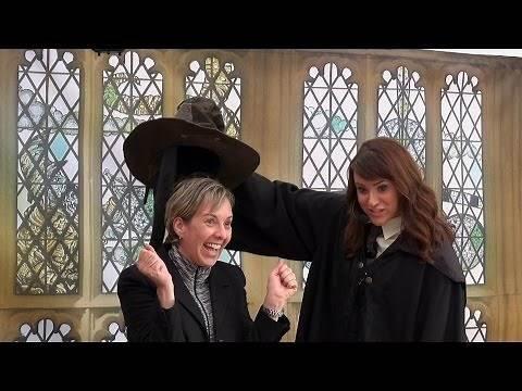 SORTING HAT - All 4 Houses - Gryffindor Hufflepuff Ravenclaw Slytherin - Celebration Of Harry Potter