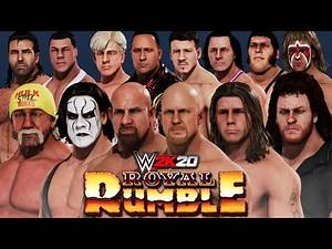 WWE 2K20 | 30 Man Old School WWF/WWE Legends Royal Rumble (Winner Is Best In The WORLD)