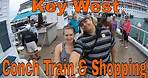 Conch Train Tour Review & Shopping in Key West, Carnival Cruise