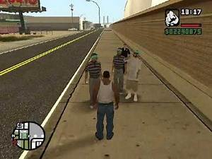 GTA San Andreas Gangs and Peds quotes to CJ part 2