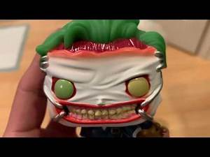 Joker Death of the Family Funko Pop
