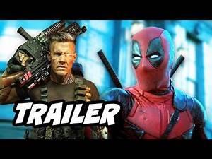 Deadpool 2 Trailer - Marvel Easter Eggs Breakdown