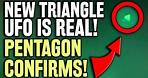 Green Triangle UFO Light Video - Pentagon CONFIRMS Leaked Evidence is Real   Alien Sighting
