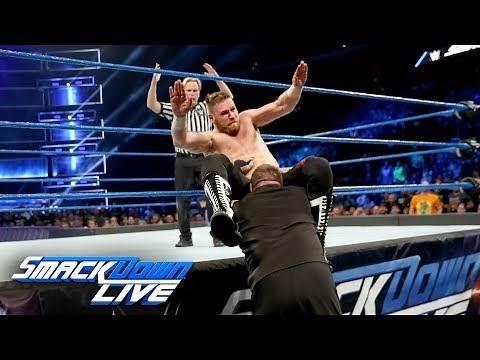 Sami Zayn vs. Kevin Owens: SmackDown LIVE, Sept. 26, 2017