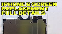 iPhone 6 Screen Replacement - Detailed Tutorial