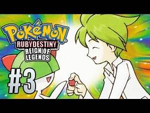 Pokémon Ruby Destiny Reign of Legends - Episode 3 - Snow Soft City and Wally!