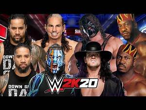 WWE BROTHERS TAG TEAM FIRST BLOOD ELIMINATION MATCH | WWE 2K20