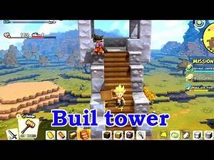 Dragon Quest Builders 2 gameplay part 10 | Build a tower