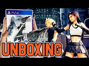 Final Fantasy VII Remake (PS4) Unboxing