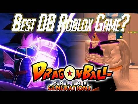 Is Dragon Ball Online Generations the Best DB Roblox Game?