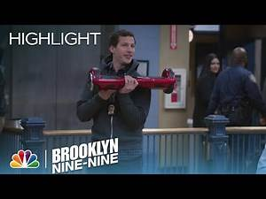 Brooklyn Nine-Nine - Jake Demonstrates the Future of Movement (Episode Highlight)