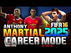 FIFA 16 | ANTHONY MARTIAL IN 2025!!! (CAREER MODE)