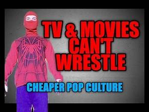 Bad Wrestling in TV & Movies - Panic Announce Table
