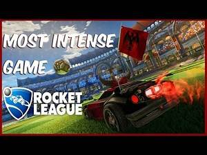 MOST INTENSE GAME OF ROCKET LEAGUE!!!
