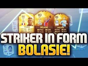 STRIKER IN FORM BOLASIE! FIFA 16 ULTIMATE TEAM
