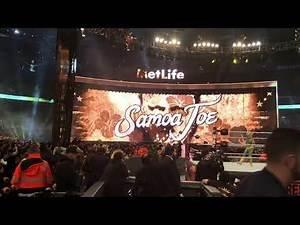 Samoa Joe Entrance WrestleMania 35