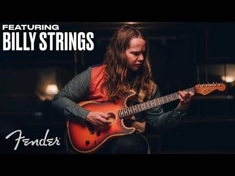 Billy Strings | American Acoustasonic Stratocaster | Fender