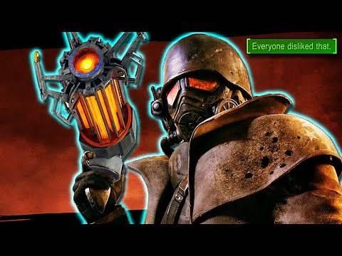 Destroying Fallout New Vegas with a GRAVITY GUN