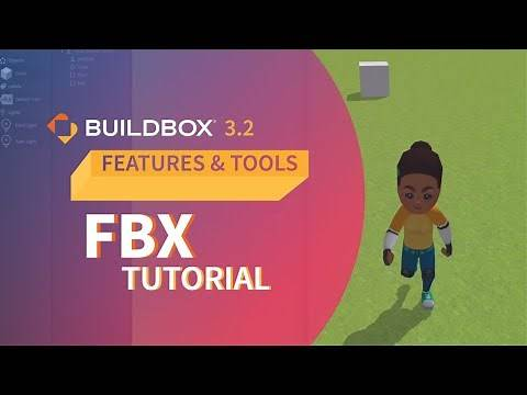 Buildbox 3 Tutorial: Using FBX Animations To Create Your Own Video Game Character With No Code