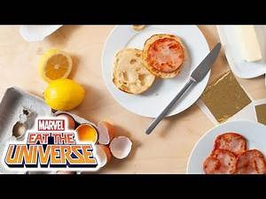 Aunt May's Mother's Day Eggs Benedict | Marvel Eat the Universe
