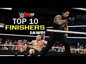 WWE 2K17 - Top 10 Finishers Swapping! Reigns, Styles, Goldberg & More - Part 2 (PS4 & XBOX ONE)