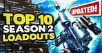 *NEW* TOP 10 BEST Loadouts in Warzone Season 2 Reloaded! | Call of Duty Best Class Setups