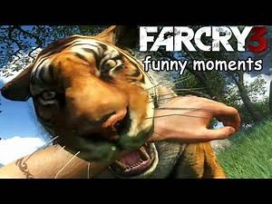 Far cry 3 funny moments ep.2 (Tiger,sharks,jump scare)