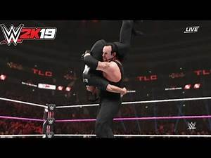 Undertaker vs Shane McMahon- One On One Match--WWE-2K19- Gameplay