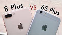 iPhone 8 Plus Vs iPhone 6S Plus In 2020! (Comparison) (Review)