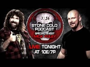 Stone Cold Podcast LIVE! with Mick Foley - Tonight after SmackDown on WWE Network